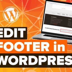 How to Edit the Footer in WordPress Step by Step