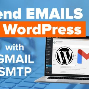 How to Send Email in WordPress using the Gmail SMTP Server