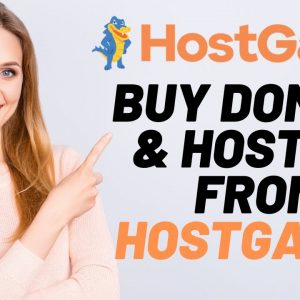 How To Buy Domain And Hosting From Hostgator | Hostgator Tutorial