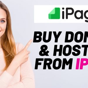 How To Buy Domain And Hosting From iPage | iPage Tutorial 2021
