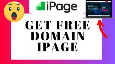 How To Get iPage Free Domain Name | Domain Tutorial