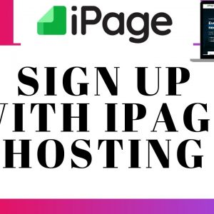 How To Sign Up With iPage | iPage Hosting Sign Up Tutorial
