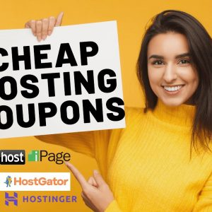 Cheap Web Hosting Coupon Codes 2021 | Hosting Discounts!