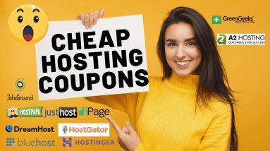 Cheap Web Hosting Coupon Codes 2021   Hosting Discounts!