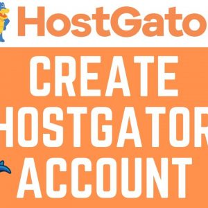 How To Create An Account With Hostgator | Hostgator Tutorial