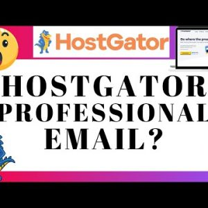 Is Hostgator Professional Email Worth It? Do You Need It? (Review)