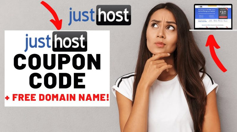 Justhost Coupon Code (2021) | Justhost Discount + FREE Domain Name!